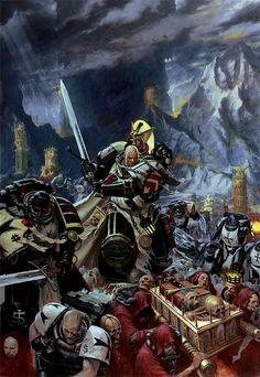 Black Templars on their eternal crusade.
