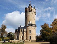 Der Flatowturm im Park Babelsberg von Mansion Plans, Berlin Brandenburg, Busse, Germany Travel, Park, Barcelona Cathedral, Highlights, Europe, Mansions