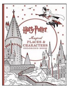 Harry Potter The Official Coloring Book 1 Scholastic