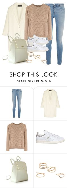 """Sin título #12044"" by vany-alvarado ❤ liked on Polyvore featuring Givenchy, Donna Karan, adidas and MANGO"