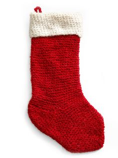 Handmade Holiday Stocking (Crochet)