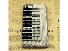 Bling bling 3D Piano Style iPhone 5 Case