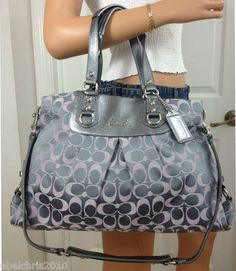 Coach Purses ---own that in baby pink. (Coach would be so nice minus the big letters and funky colors) Coach Purses, Coach Bags, Purses And Bags, Coach Handbags, Lv Bags, Gucci Purses, Cheap Michael Kors, Michael Kors Outlet, Pinterest For Men