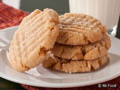 Biscuit Mix - Easy Peanut Butter Cookies | mrfood.com