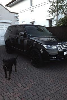 Range Rover negra, elegante y sexy