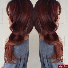 I Love thisvSTUNNING auburn. This actually makes me contemplate trying red hair. You only live once, right?