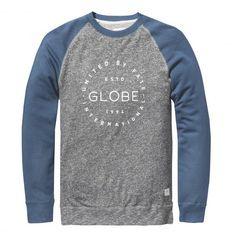 GLOBE Boys Windsor Crew II sweat-shirt marina blue enfants 49,00 € #skate #skateboard #skateboarding #streetshop #skateshop @playskateshop