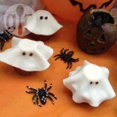 Cupcakes de fantasma
