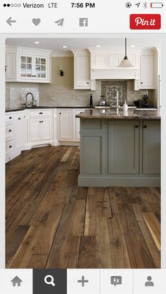 Floors and that style backsplash