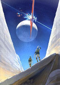 The Futuristic Age of Retro Sci-Fi Retro Kunst, Retro Art, Fantasy Kunst, Sci Fi Fantasy, Sci Fi Kunst, Science Fiction Kunst, Illustrations, Illustration Art, Arte Sci Fi