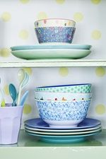 Gorgeous RICE melamine at Pinks & Green