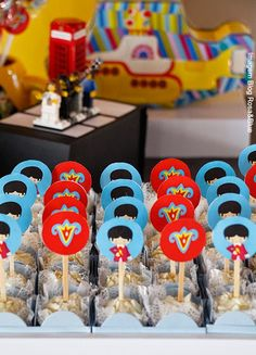 Toppers Yellow Submarine Beatles Band, The Beatles, Beatles Birthday, Yellow Submarine, Brand Board, Baby Shower, Blog, 1, Content