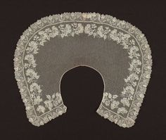 Museum of Fine Arts, Boston: collar de EEUU de 1800-50 (Inventario:53.2257)