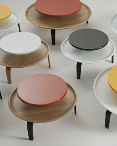 Low round coffee #table SECRETO - Colé Italian Design Label