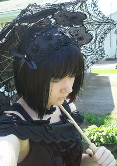=^_^= ~Nya Lolita Fashion, Fashion Beauty, Japanese Street Fashion, Gothic Lolita, Japanese Girl, Different Styles, Feminine, Street Style, Elegant