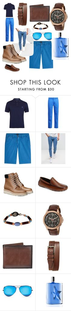 """#cool#trend#fashone#summer#moda#"" by hannazakaria ❤ liked on Polyvore featuring Polo Ralph Lauren, Ralph Lauren, Baldessarini, Diesel, To Boot New York, Michael Kors, Croft & Barrow, 1901, Ray-Ban and Thierry Mugler"