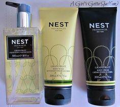 Nest body creams & hand soaps