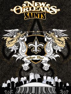 new orleans saints - 4 Stars & Up Saints Gear, Nfl Saints, New Orleans Saints Football, All Saints Day, Best Football Team, Nfl Football, Who Dat, Basketball Pictures, Great Pic