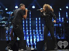 Jay-Z and Alicia Keys at the iHeartRadio Music Festival 2011. Enter now for a chance to win a trip and tickets to iHeartradio Music Festival 2012: http://vegas.iheart.com/go/iheartradio-music-festival/    Listen to your own Jay-Z inspired station on iHeartRadio: http://www.iheart.com/#/artist/Jay-Z-39268/?pname=pinterest=jayzradio