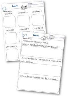 Lire des phrases simples, lecture, compréhension, CP, CE1