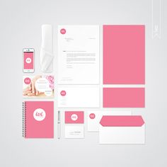 Visual Identity & Branding for a Beauty Salon by Julia Macczak, via Behance