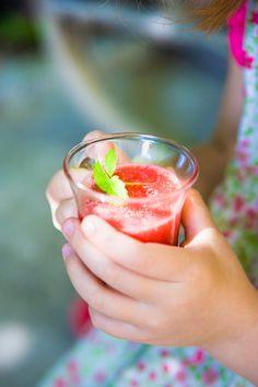Disfruta con tus niños de las tardes de verano (Zumo de Sandía)