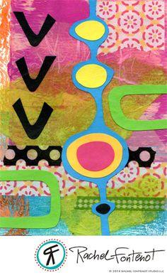 Rachel Fontenot - Collage Circle 2