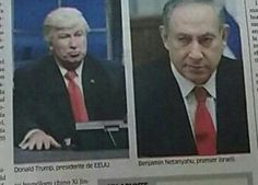 "A newspaper in the Dominican Republic used a photo of Alec Baldwin impersonating President Donald Trump on ""Saturday Night Live"" rather than an actual photo of Trump."