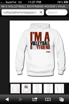 Cute boyfriend idea...even though I'm not a volleyball player :/ still cool