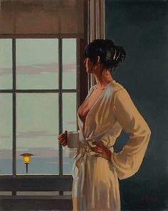 La signora guardava il cielo e il mare dal suo attico ed era commossa, non avrebbe saputo dire bene da cosa.
