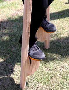 how to make wood stilts walking waldorf inspired moms
