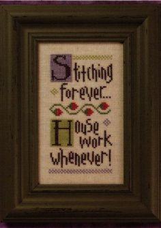 Stitching Forever - Cross Stitch Pattern