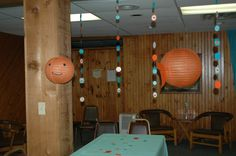 Fish lanterns and Hanging fish decorations