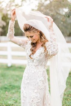 EmWedding Dress by GOSSAMER Veil