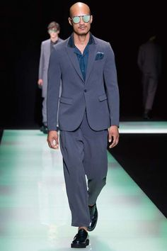 Emporio Armani Spring 2016 Menswear | The Mode Official: A hangout place for fashion and diversity.