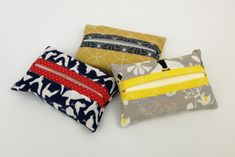Tatting, Coin Purse, Stitch, Wallet, Super, Sewing, Handmade, Bags, Diy Inspiration