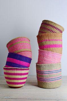 Image result for woven basket pink