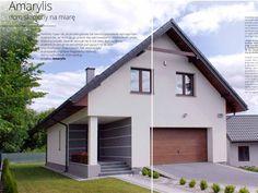 Amarylis – dom skrojony na miarę House Plans, Garage Doors, Outdoor Structures, Outdoor Decor, Houses, Home Decor, House 2, Homes, Decoration Home