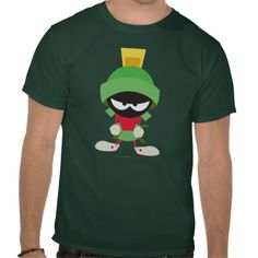 Marvin the Martian Ready to Attack T Shirt #tees #shirts #marvin #martian #looneytunes