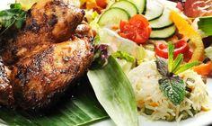 #Recette de cuisses de #poulet citronnées à la #plancha - Mieux Vivre par Auchan Plancha Grill, Saveur, Grilling, Bbq, Chicken, Food, Flat Top Grill, Poultry, Skewers
