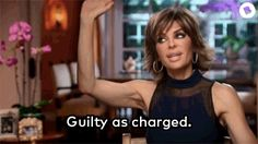 New party member! Tags: tv reality rhobh real housewives of beverly hills guilty lisa rinna guilty as charged