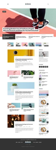 Awesome Web Design Advice Tips And Hints You Ought To Know Layout Web, Blog Layout, Layout Design, Site Web Design, Page Design, Camera Photography, Photography Photos, Creating A Blog, Psd Templates