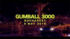 Gumball 3000 Bucharest 6 May 2016