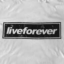Image result for live forever logo