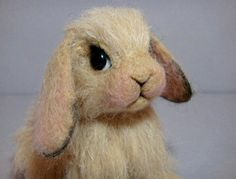 needle felted bunny | Flickr - Photo Sharing!