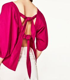 See our favorite back-baring summer tops currently featured on the SHOP/Who What Wear shopping app.