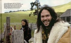 """foreverneilyoung: """" Neil & Gary Burden (the sleeve artist) at the Broken Arrow Ranch, 1971 by Henry Diltz """" Featured in Uncut, February 2011 """" """" Falling In Love With Him, I Fall In Love, Henry Diltz, Hippy Room, Acoustic Music, Old Rock, Old School Music, Broken Arrow, Happy Hippie"""