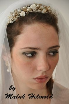 Maluh Helmold Acessórios para Noivas : Noivas Maravilhosas by Maluh Helmold
