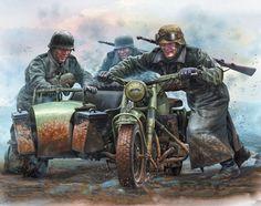 BMW R-75, 2ª Guerra Mundial