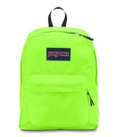 Jansport Superbreak Fluorescent Green